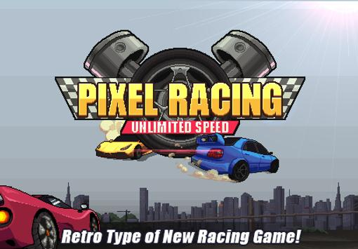 Pixel Racing الملصق