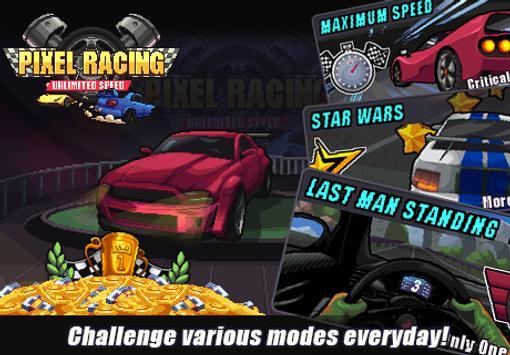 Pixel Racing تصوير الشاشة 13