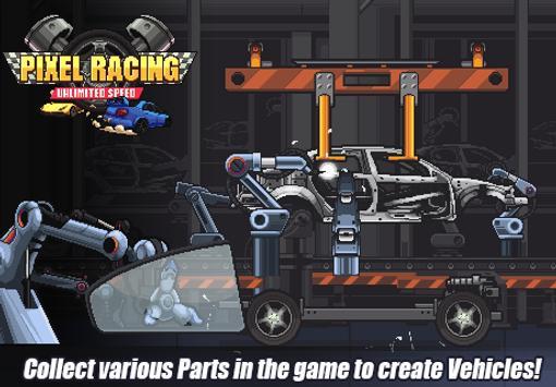 Pixel Racing تصوير الشاشة 8