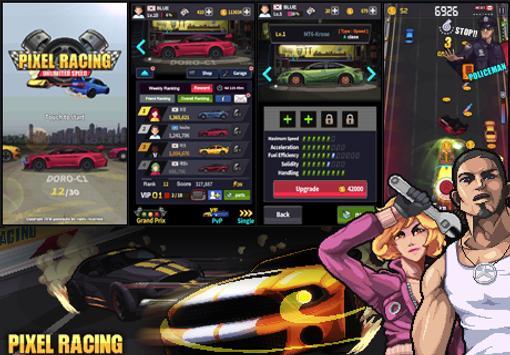 Pixel Racing تصوير الشاشة 1