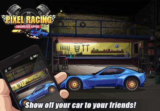Pixel Racing تصوير الشاشة 6