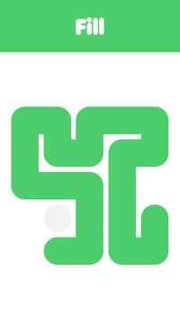 Fill - one line puzzle game 스크린샷 3