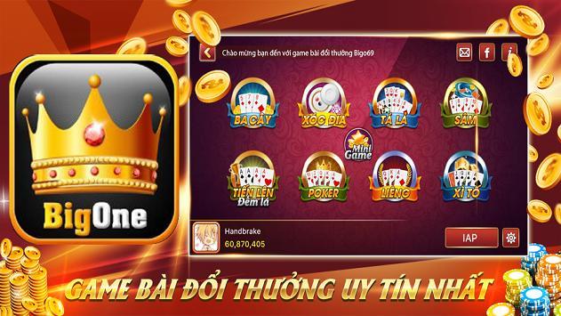 Game danh bai doi thuong BigOne poster