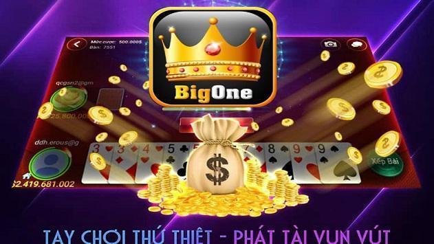 Game danh bai doi thuong BigOne screenshot 2