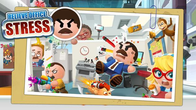 Beat the Boss 4: Stress-Relief Game. Hit the buddy poster