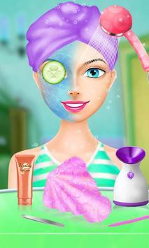 Princess Frozen Makeup salon screenshot 1