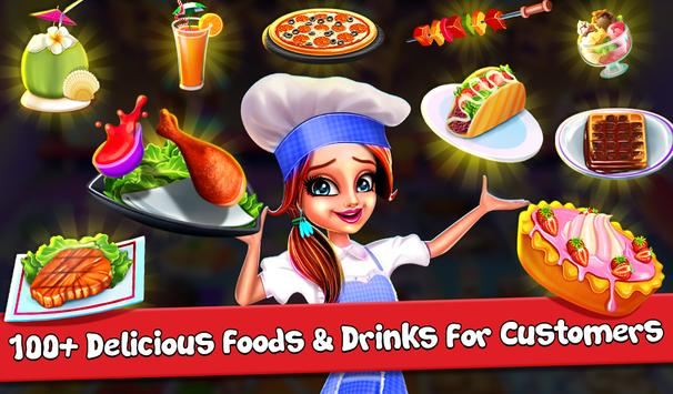My Cafe Shop - Cooking & Restaurant Chef Game स्क्रीनशॉट 1