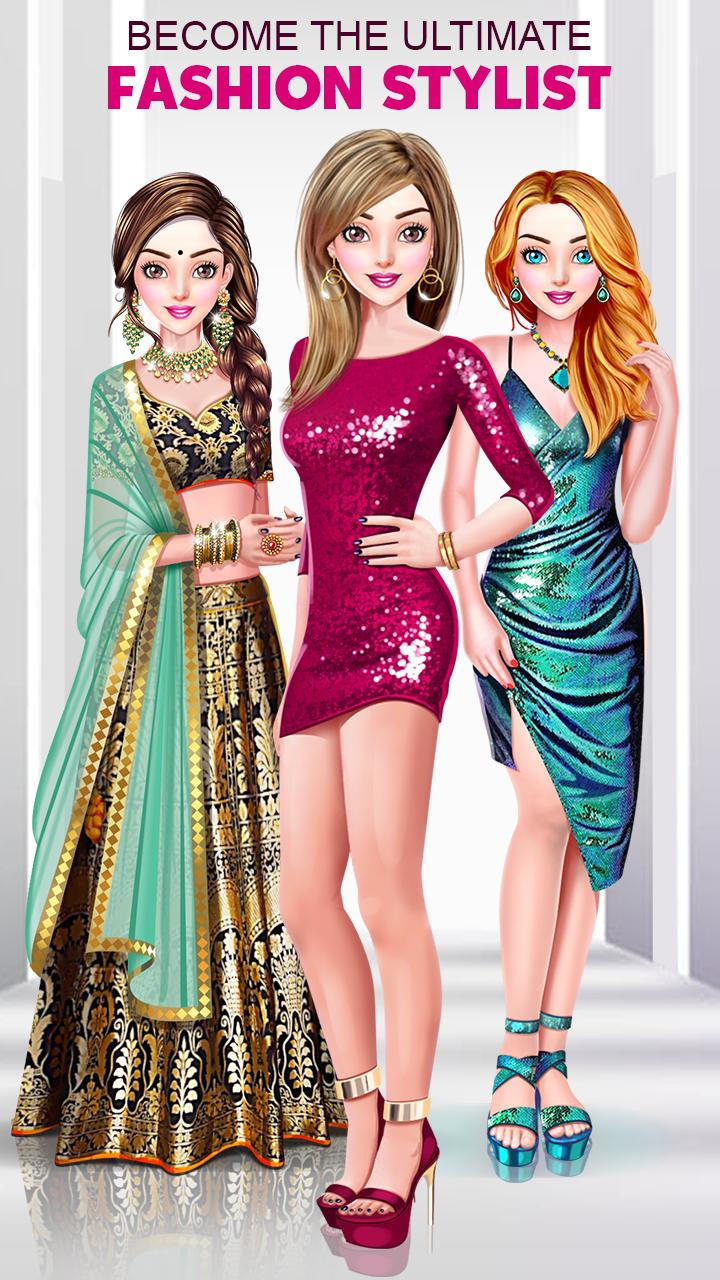 Princess Fashion Designer Girls Dress Up Games For Android Apk Download
