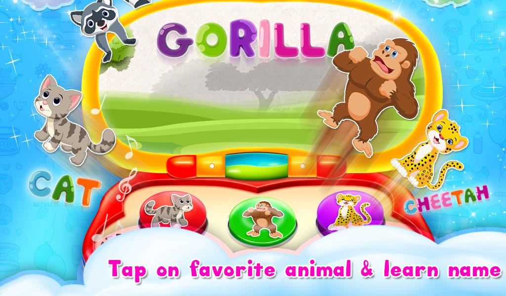 Kids Computer Preschool Activities Toddlers Games for