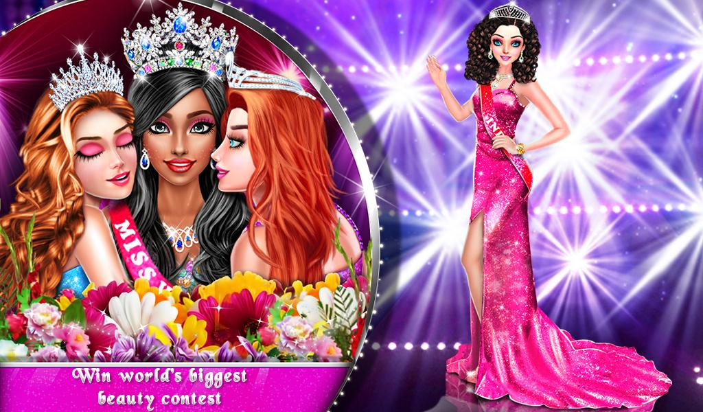 Live Miss world Beauty Pageant Girls Games for Android ...