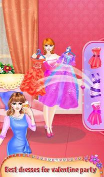 Princess Valentine Hair Style screenshot 4