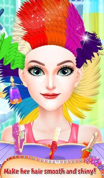 Princess Valentine Hair Style screenshot 13
