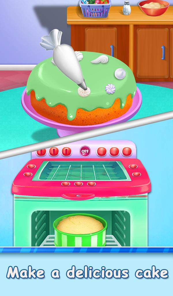 Amazing Designer Birthday Cake Bakery Cooking Game For Android Apk Download Birthday Cards Printable Benkemecafe Filternl