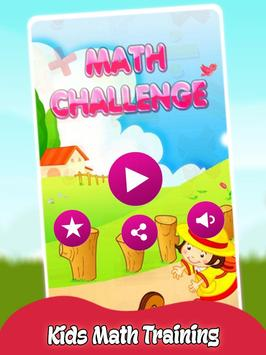 Math Challenge For Kids poster
