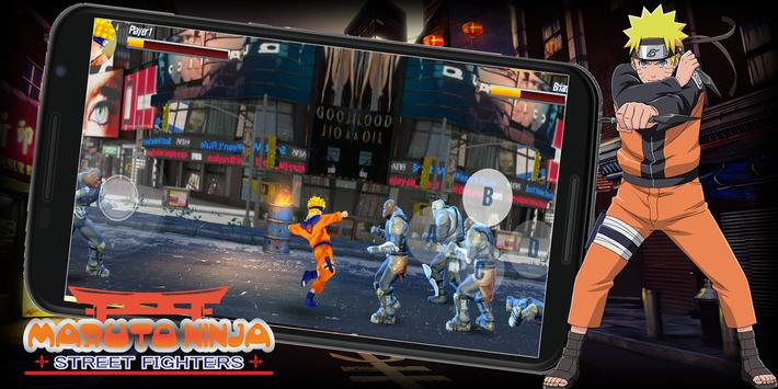 Maruto Ninja Street Fighters screenshot 5