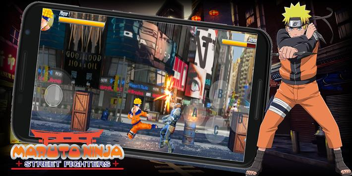 Maruto Ninja Street Fighters screenshot 6