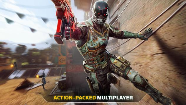 Modern Combat Versus: New Online Multiplayer FPS Cartaz
