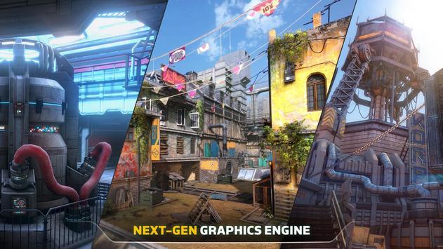 Modern Combat Versus: New Online Multiplayer FPS imagem de tela 3