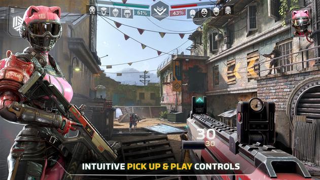 Modern Combat Versus: New Online Multiplayer FPS imagem de tela 4