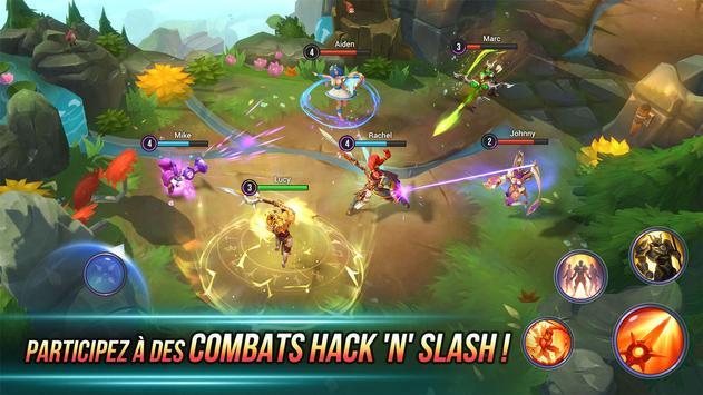 Dungeon Hunter Champions: De l'Action RPG en ligne Affiche