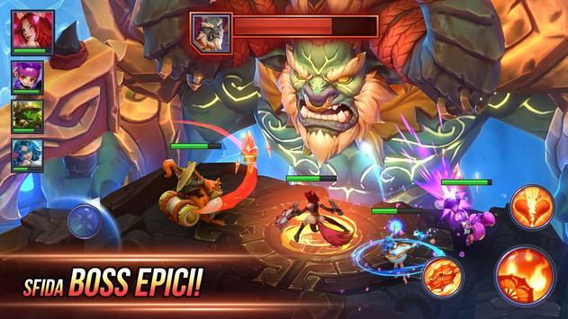 3 Schermata Dungeon Hunter Champions: Epic Online Action RPG