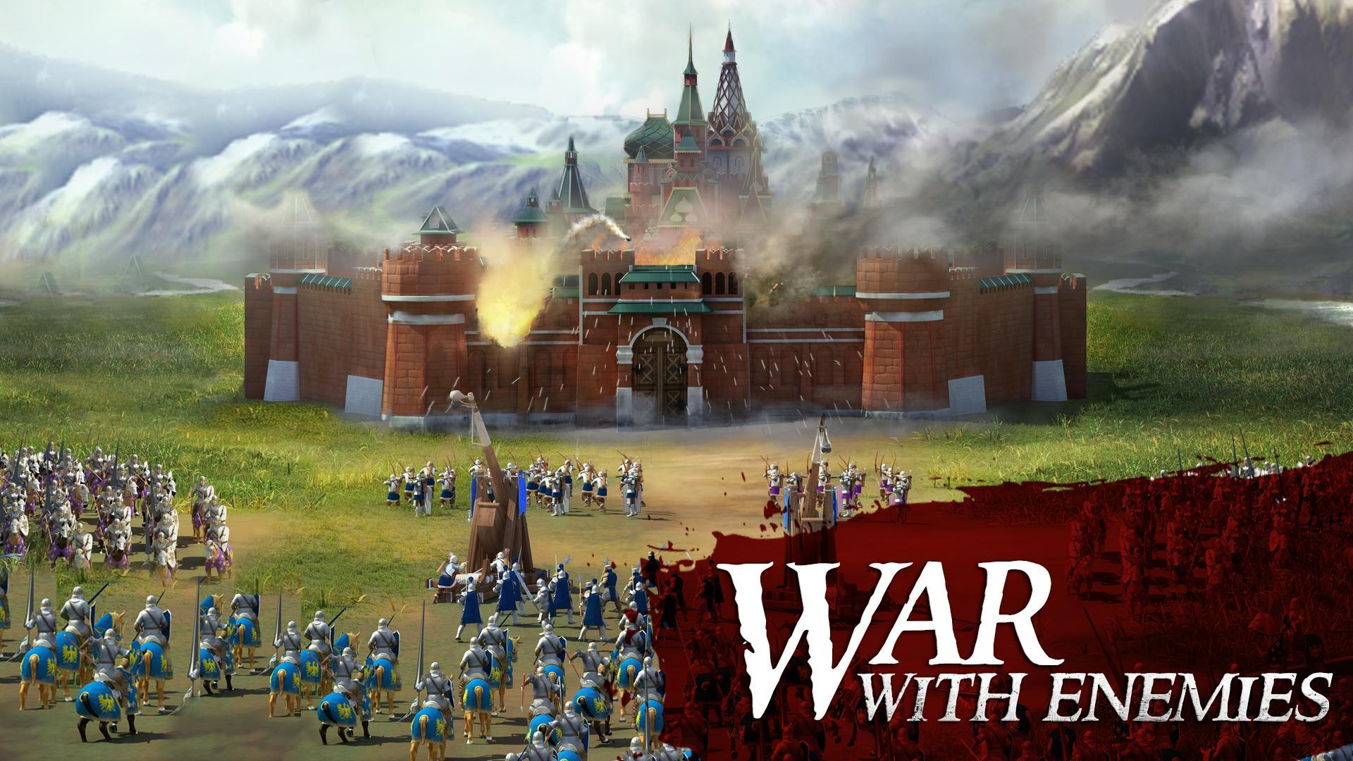 March Of Empires Apk Download For Android Free Massive Multiplayer Online Strategy Game From Gameloft