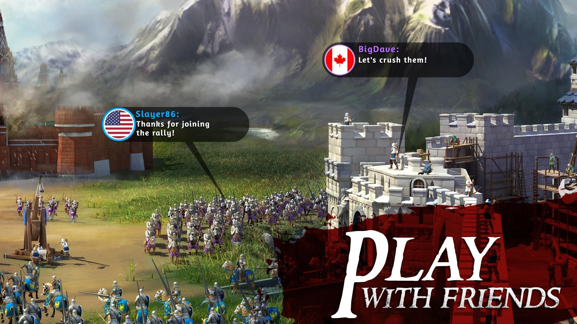 تحميل لعبة March of Empires للاندرويد