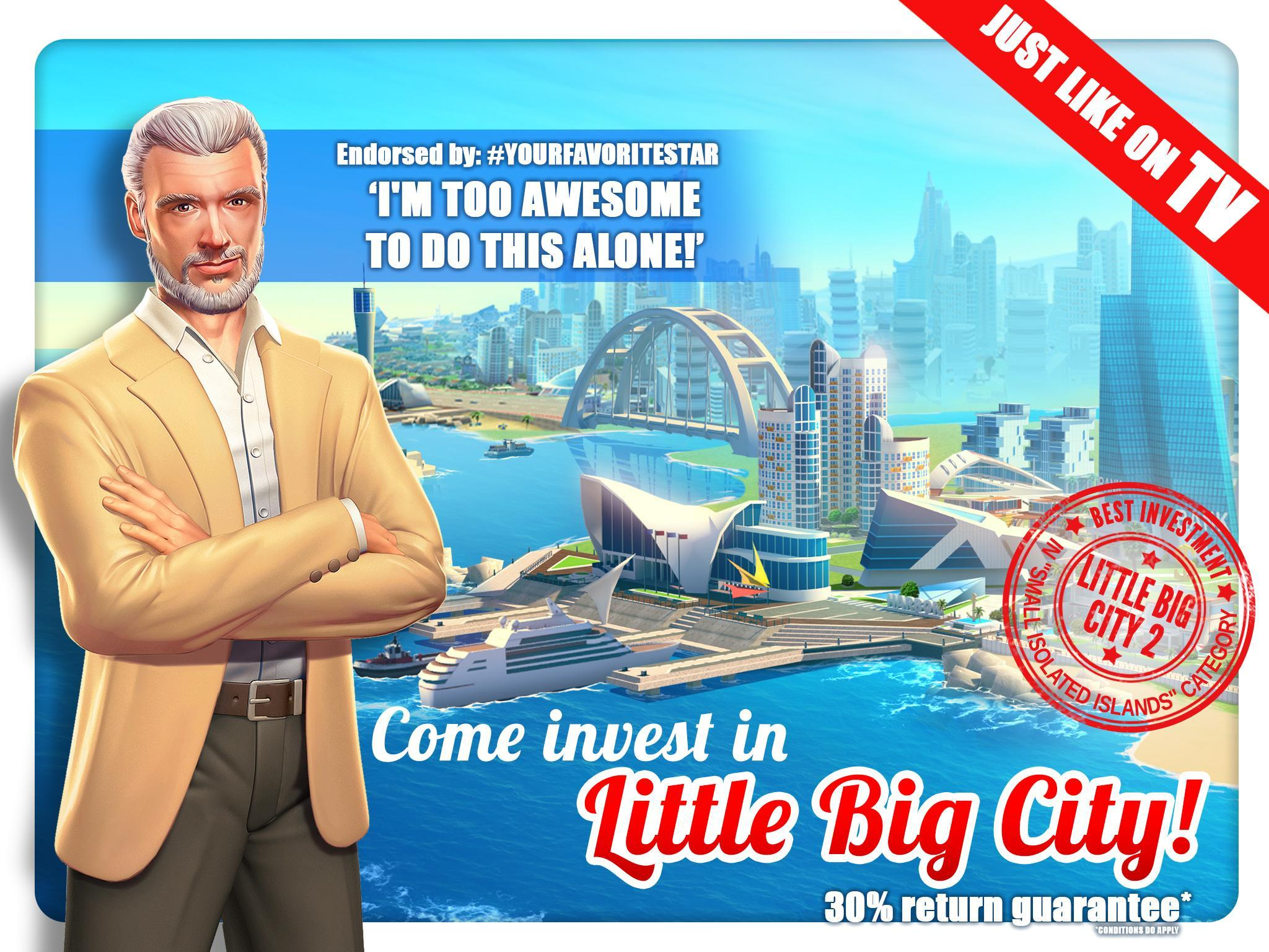 Little Big City 2 für Android - APK herunterladen