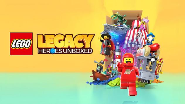 LEGO® Legacy: Heroes Unboxed poster