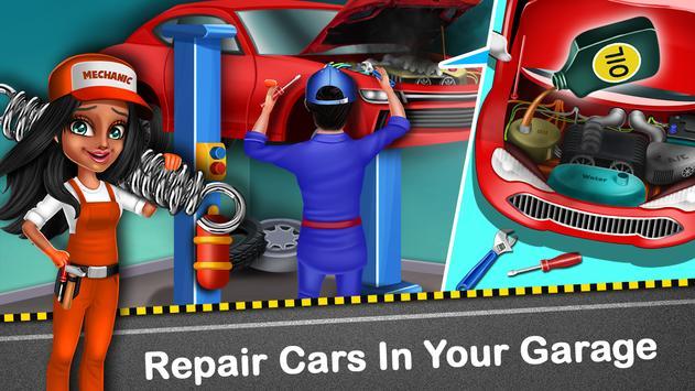 Car Garage Tycoon - Simulation Game screenshot 6