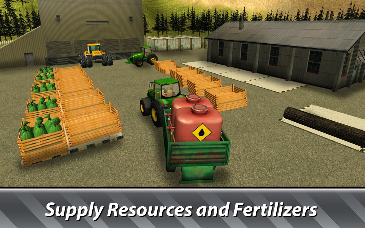 🚜 Farm Simulator: Hay Tycoon grow and sell crops for