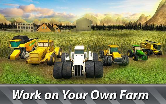 🚜 Farm Simulator: Hay Tycoon Affiche