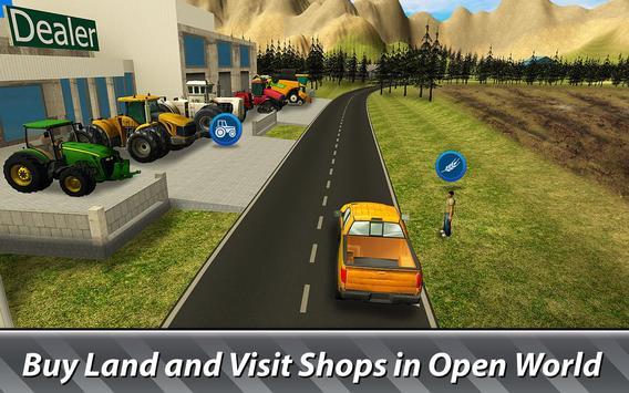 🚜 Farm Simulator: Hay Tycoon capture d'écran 1