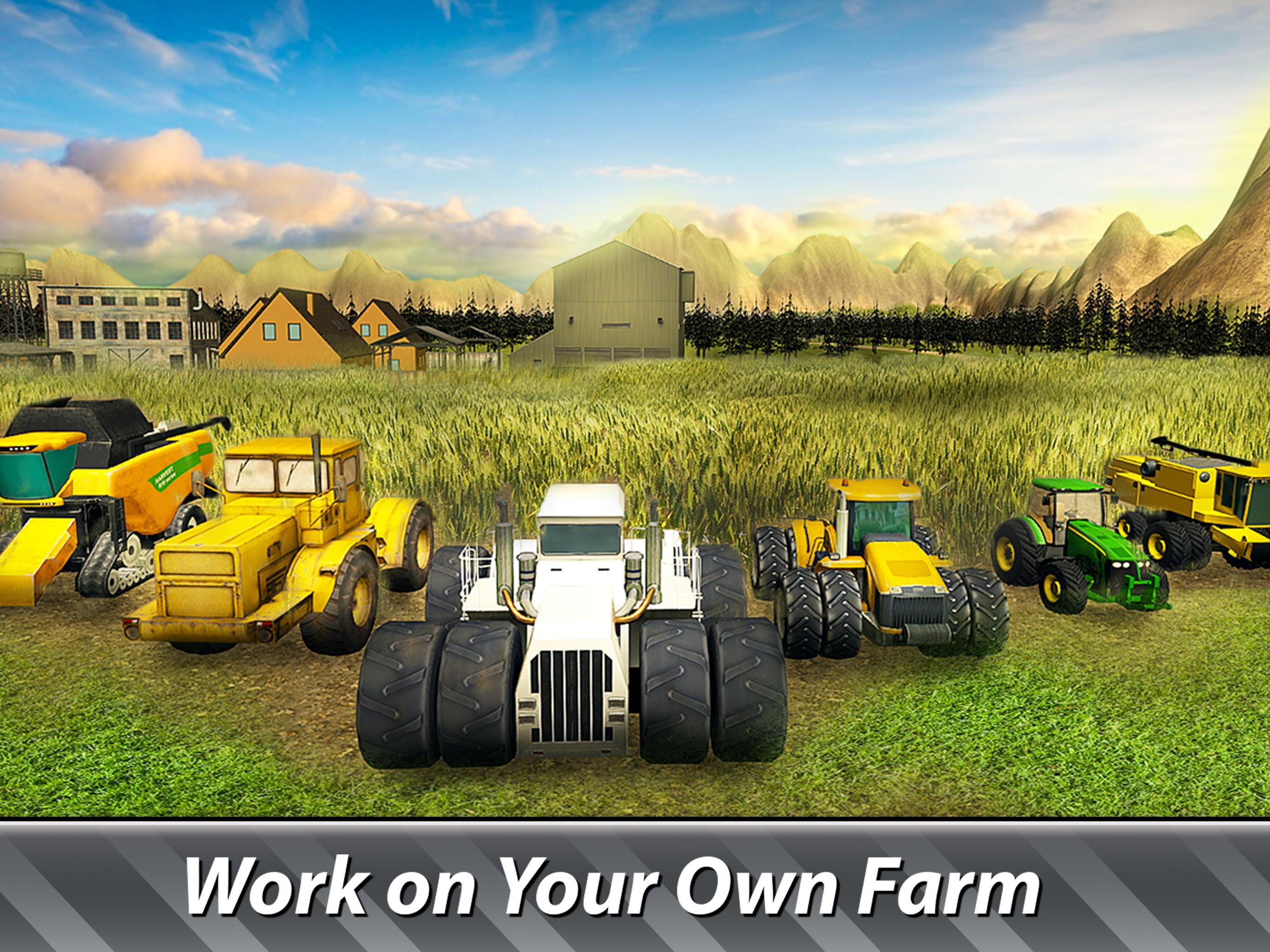 🚜 Farm Simulator: Hay Tycoon grow and sell crops for Android - APK