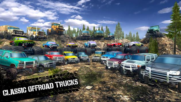 オフロード運転シミュレータ4x4:トラック&SUVトロフィー スクリーンショット 13