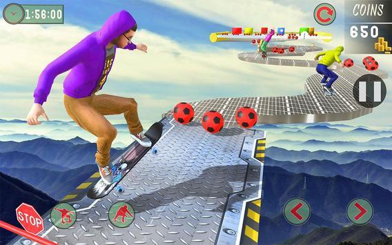10 Schermata Impossible Tracks Skateboard Games