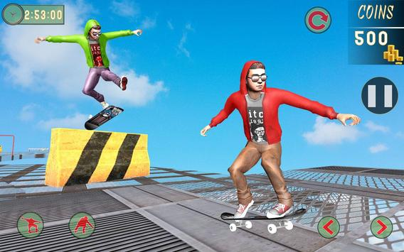 7 Schermata Impossible Tracks Skateboard Games