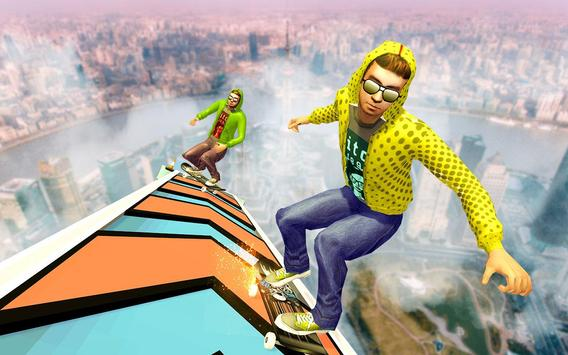 6 Schermata Impossible Tracks Skateboard Games