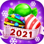Candy Charming - 2021 Match 3 Puzzle Free Games APK