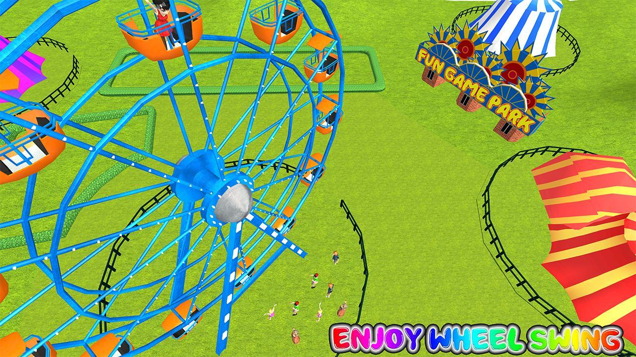 Virtual Family Amusement Park Fun Game For Android Apk