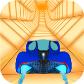 Free Car Driving: Tunnel Rush Game icon
