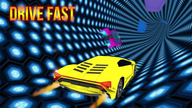 Free Car Driving: Tunnel Rush Game poster
