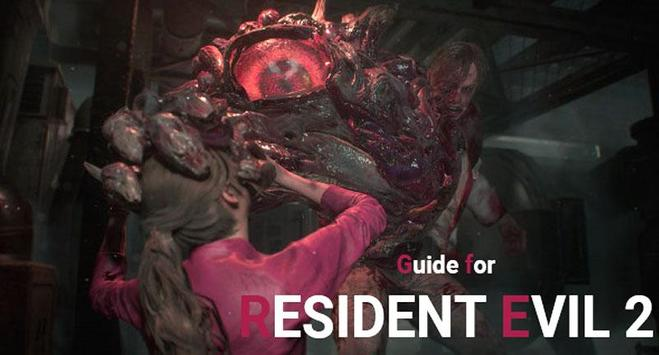 RESIDENT EVIL 2 : BIOHAZARD GUIDE poster