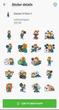 Gamers Stickers for WhatsApp - WAStickerApps poster