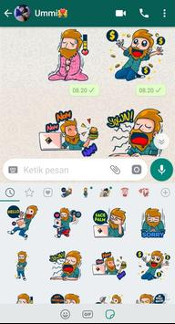 Gamers Stickers for WhatsApp - WAStickerApps screenshot 1
