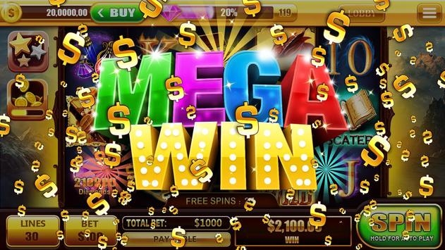 Epic Jackpot Slot GAMES FREE! screenshot 1