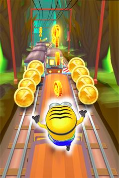 Free Minion Adventure 3D : Banana Rush 2 screenshot 1