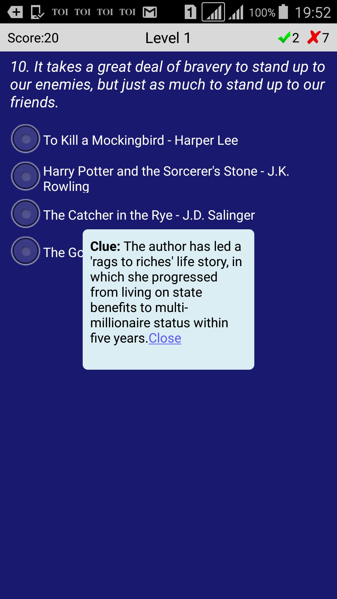 Book Quotes Quiz for Android - APK Download