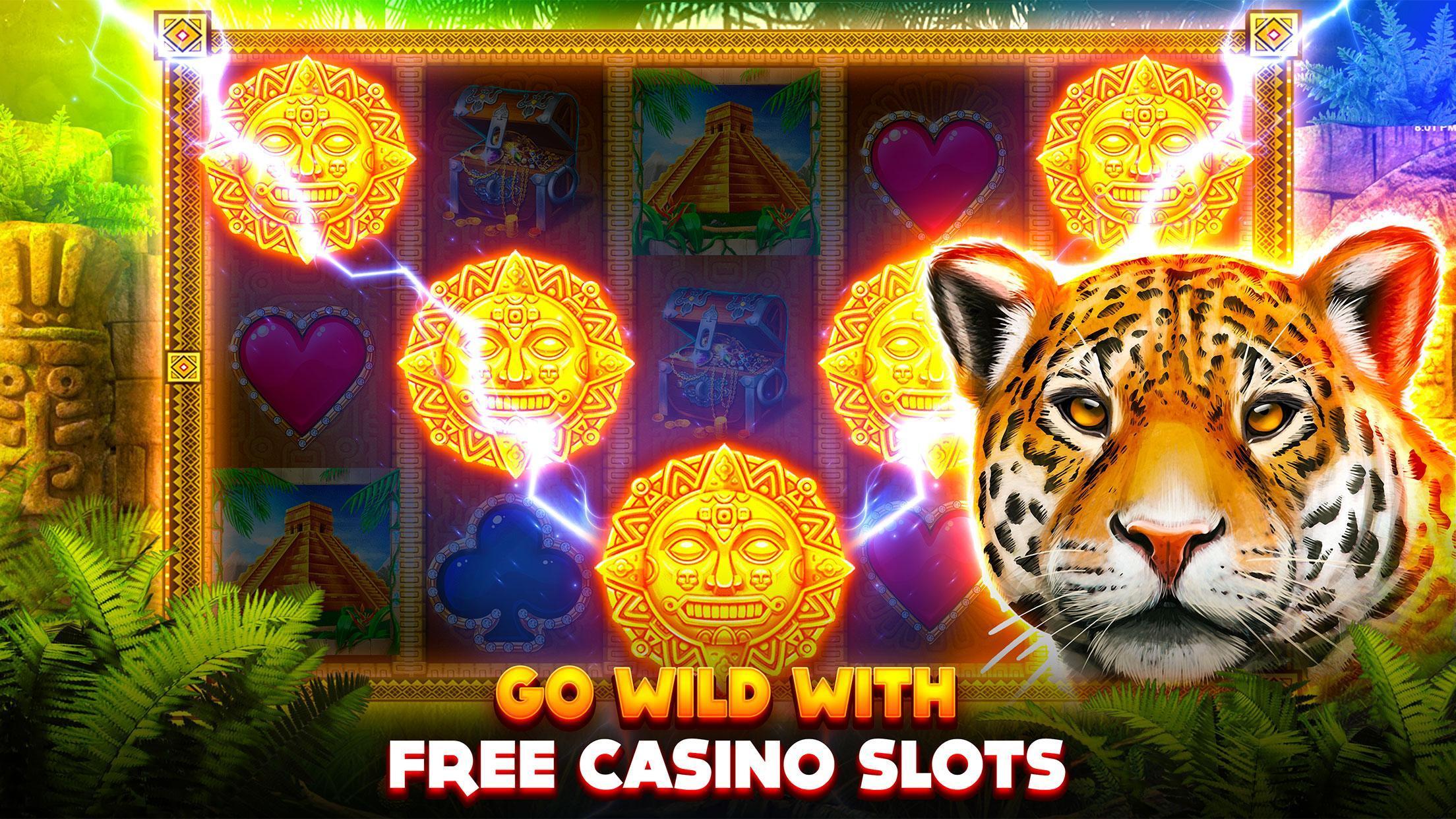 Slots Jaguar King Casino - FREE Vegas Slot Machine poster