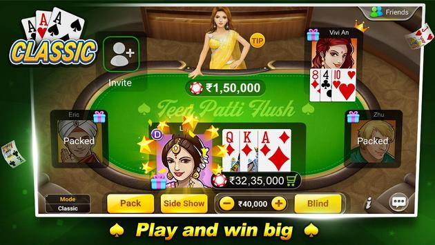 Teen Patti Flush poster